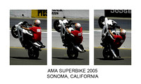 AMA Superbikes Race at Infineon